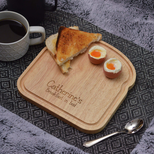 Personalised Breakfast Egg Board - Breakfast in Bed Valentine's Day
