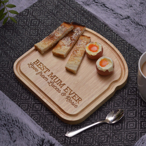 Personalised Breakfast Egg Board - Dippy Eggs Mother's Day
