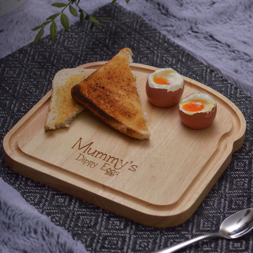 Personalised Breakfast Egg Board - Breakfast in Bed Mother's Day