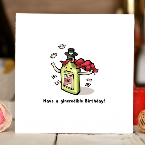 Have a gincredible Birthday Card