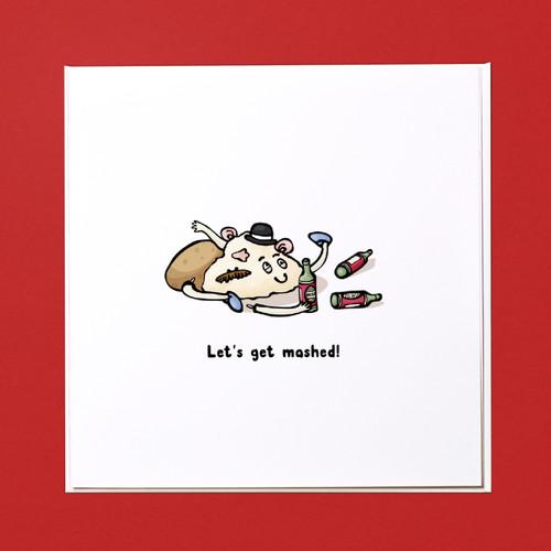 Let's get mashed Card