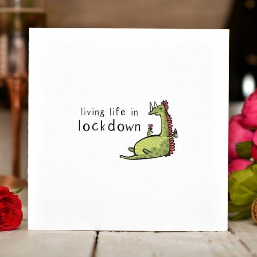 Living life in lockdown Card