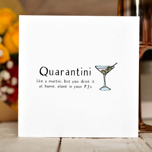 Quarantini Card