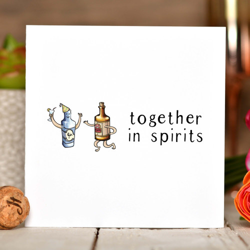 Together in spirits Card