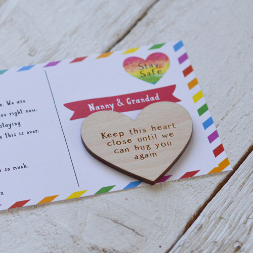 Personalised Postcard Magnet Token Giftcard