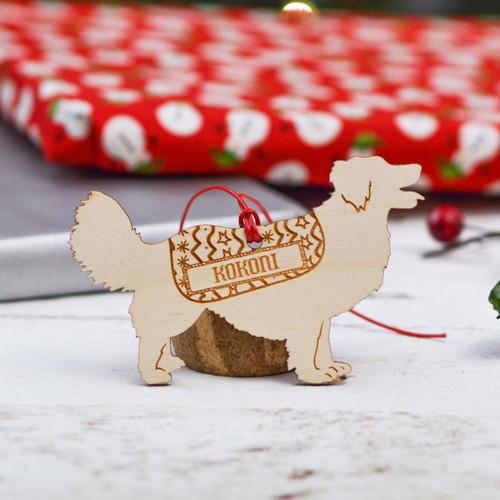 Personalised Kokoni Dog Decoration