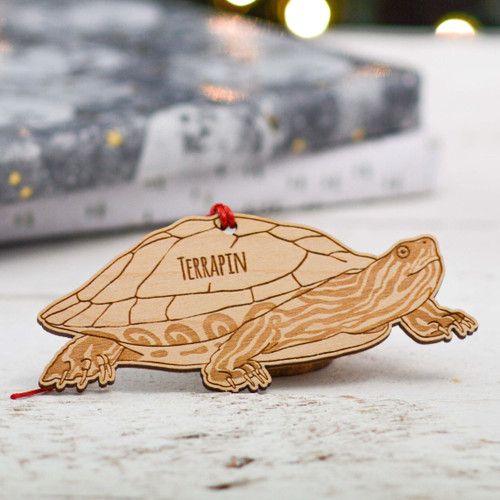 Personalised Terrapin Decoration