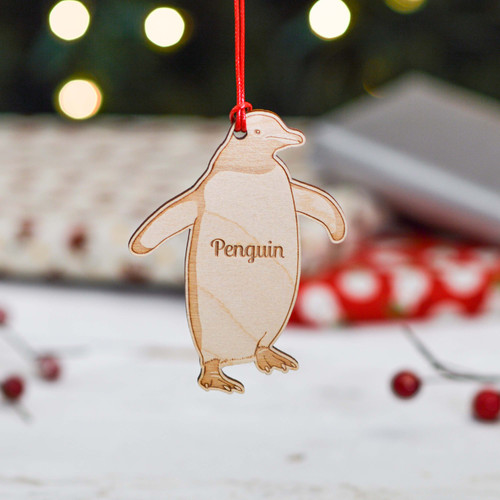 Personalised Penguin Sealife Decoration