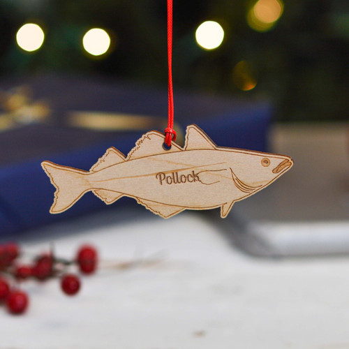 Personalised Pollock Fish Decoration
