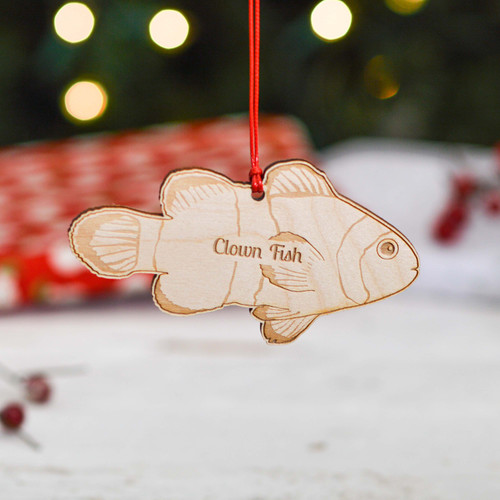 Personalised Clown Fish Decoration