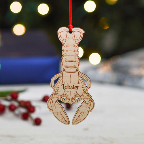 Personalised Lobster Decoration