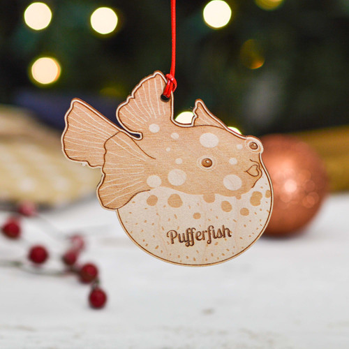 Personalised Pufferfish Decoration