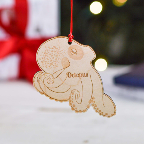 Personalised Octopus Decoration