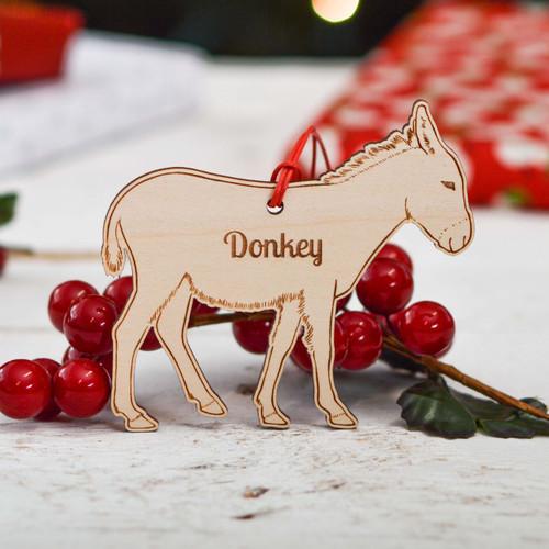 Personalised Donkey Farm Decoration