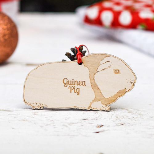 Personalised Guinea Pig Pet Decoration