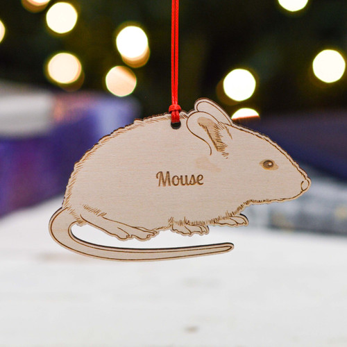 Personalised Mouse Pet Decoration