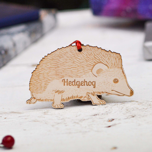 Personalised Pygmy Hedgehog Decoration
