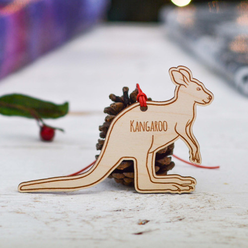 Personalised Kangaroo Decoration
