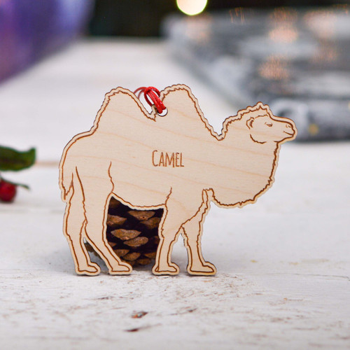 Personalised Camel Decoration
