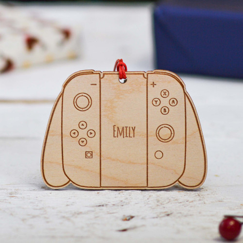 Personalised Nintendo Switch Controller Decoration