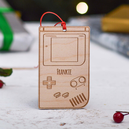 Personalised Gameboy Decoration