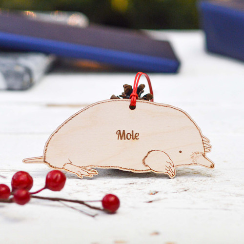 Personalised Mole Decoration