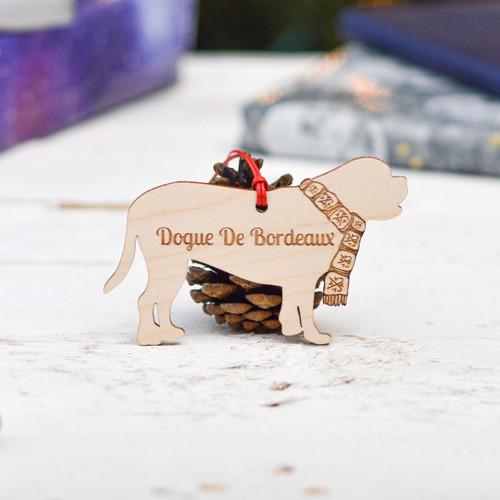 Personalised Dogue De Bordeaux Decoration