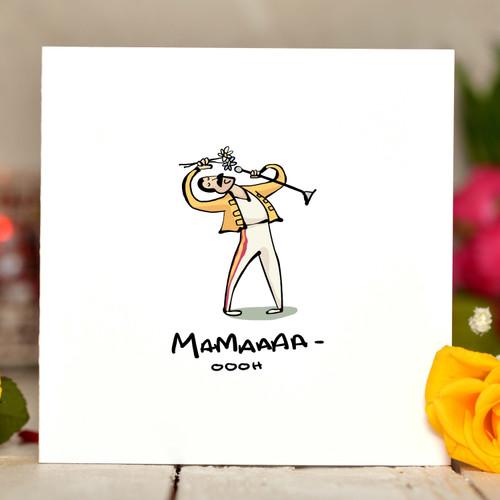 MAMA - ooooo Card