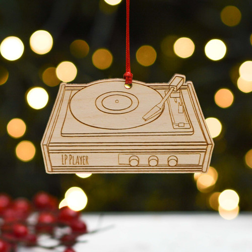 Personalised LP Player Decoration