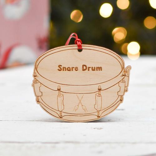 Personalised Snare Drum Decoration