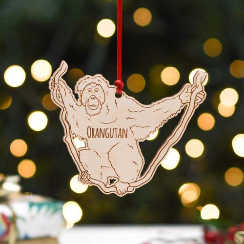 Personalised Orangutan Decoration