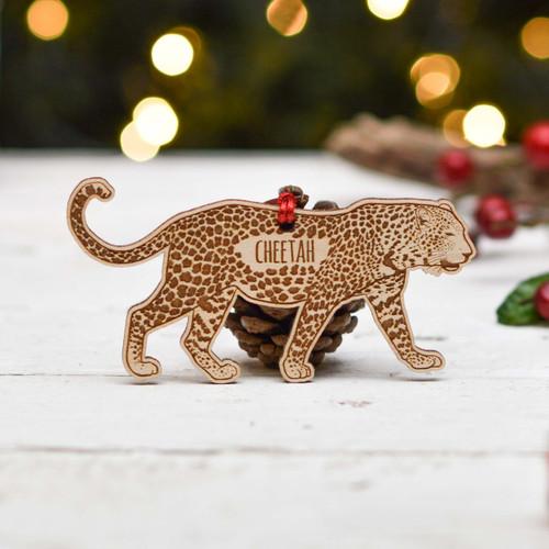 Personalised Cheetah Decoration