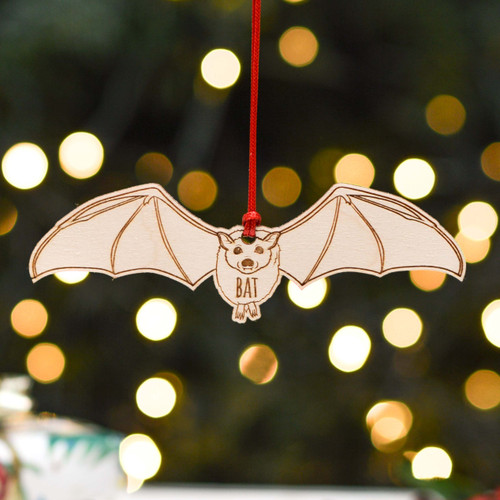 Personalised Bat Decoration