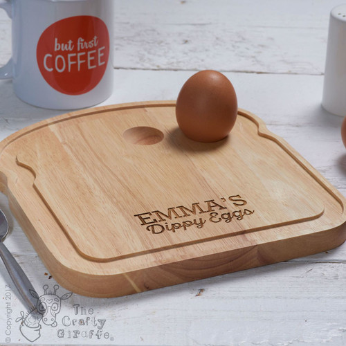 Personalised Breakfast Egg Board - Dippy Eggs