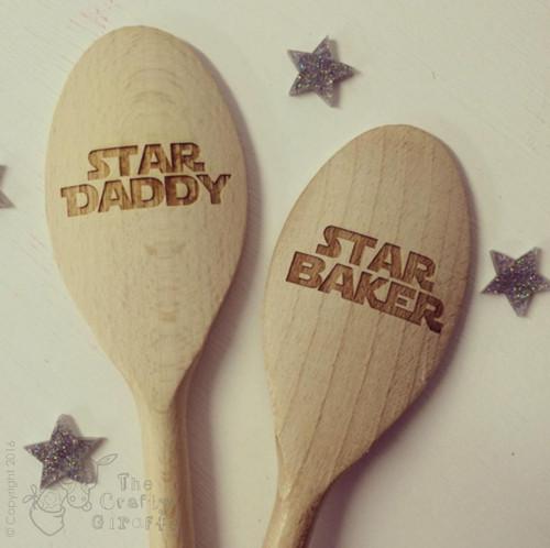 Personalised Star Baker Spoon