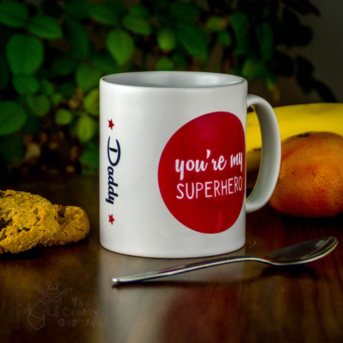 Personalised Mug - You're my superhero