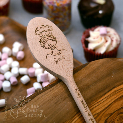 Personalised Character Spoon Face - Man