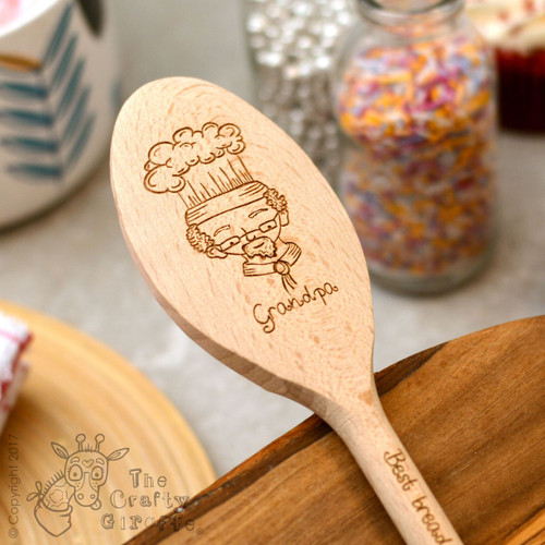 Personalised Character Spoon Face - Grandpa