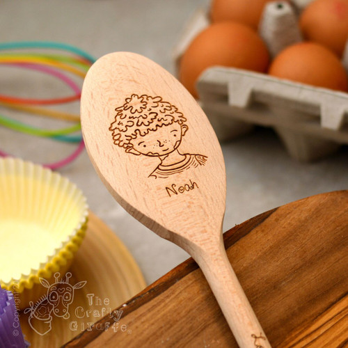 Personalised Character Spoon Face - Boy