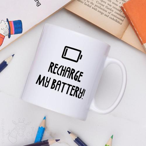 Recharge my battery Mug