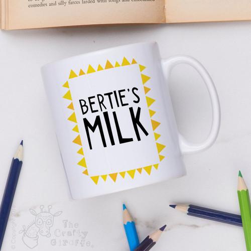 Personalised - Milk Mug