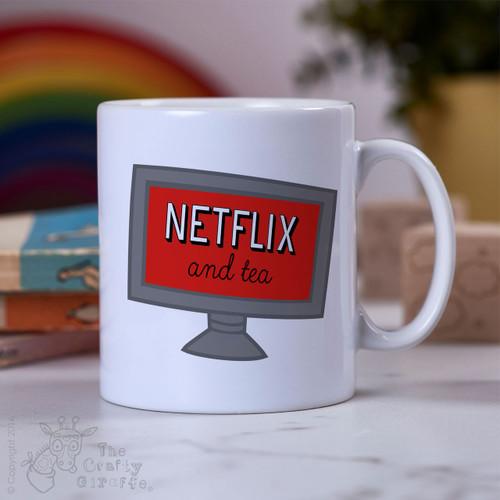 Netflix and tea Mug