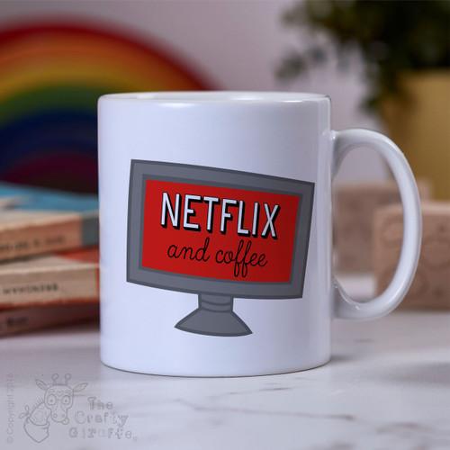 Netflix and Coffee Mug