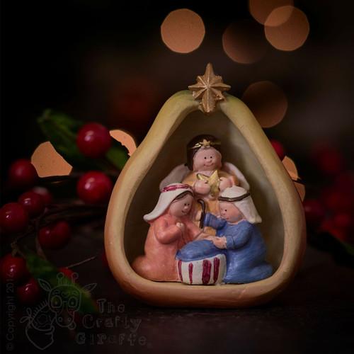 Nativity fruits mix - Pear