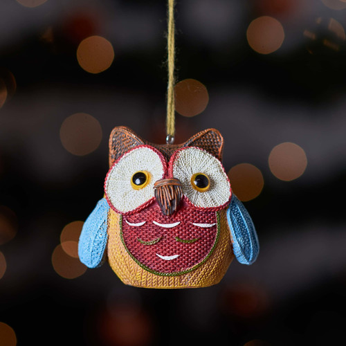 Buy Knitted Owl - Brown ear From The Crafty Giraffe, the home of unique and affordable gifts for loved ones...