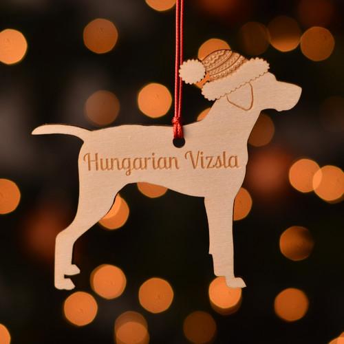 Personalised Hungarian Vizsla Dog Pet Decoration - The Crafty Giraffe