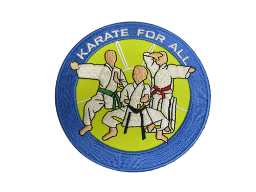 Karate for all round patch