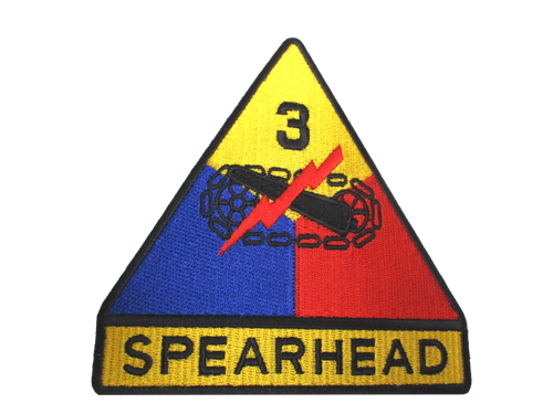 Spearhead Army Patch