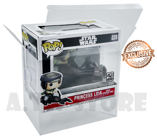 Star Wars Princess Leia On Speeder Bike Funko Pop Protector / Case