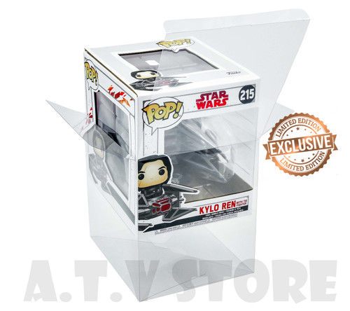 ATV Kylo Ren with Tie Fighter Funko Pop Protector